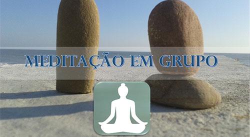 Meditação em grupo Sentido Humano
